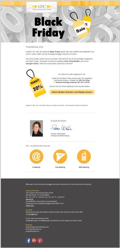 Versand per E-Mail