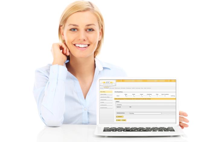 Vorbereitung Fax-Mailing im geschützten Kundenbereich