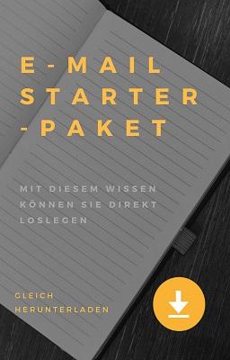E-Mail Starter-Paket für erfolgreiches E-Mail Marketing